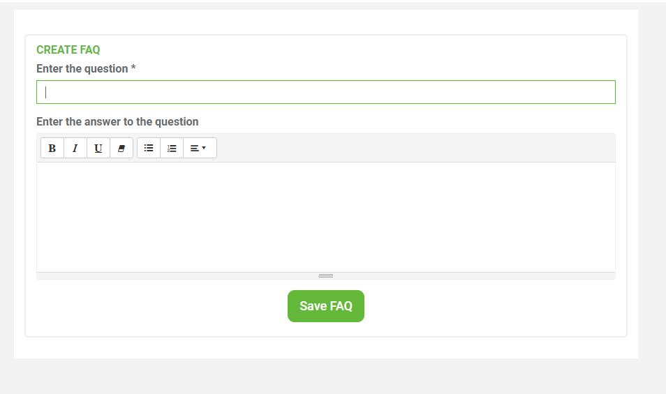create-FAQs